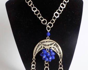 NECKLACE, SILVER NECKLACE, Necklace chain, Necklace pendant, Artisan necklace, artisan jewelry