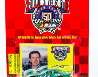Racing Champions 50th Anniversary Wally Dallenbach 1/64 Diecast Car First Union