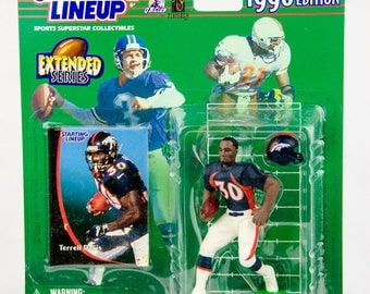 Starting Lineup 1998 NFL Terrell Davis Action Figure Denver Broncos
