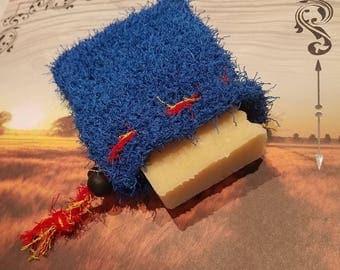 The Superman Exfoliating Soap Scrubbie