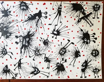 PAINTING: Splat Critters