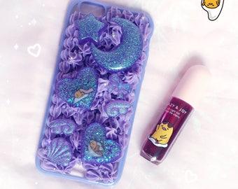 iPhone 6S   Purple Nebula Gudetama Decoden Case