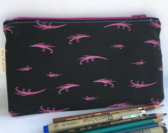 Small zip clutch/pencil case