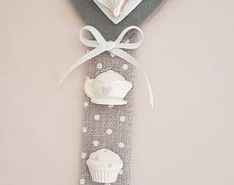 Scented heart to hang in your kitchen, dining room