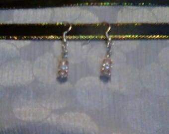 Bridesmaid gift earrings
