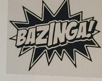 Bazinga Decal