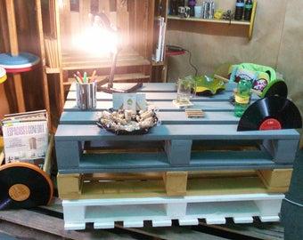 Livingroom pallet table