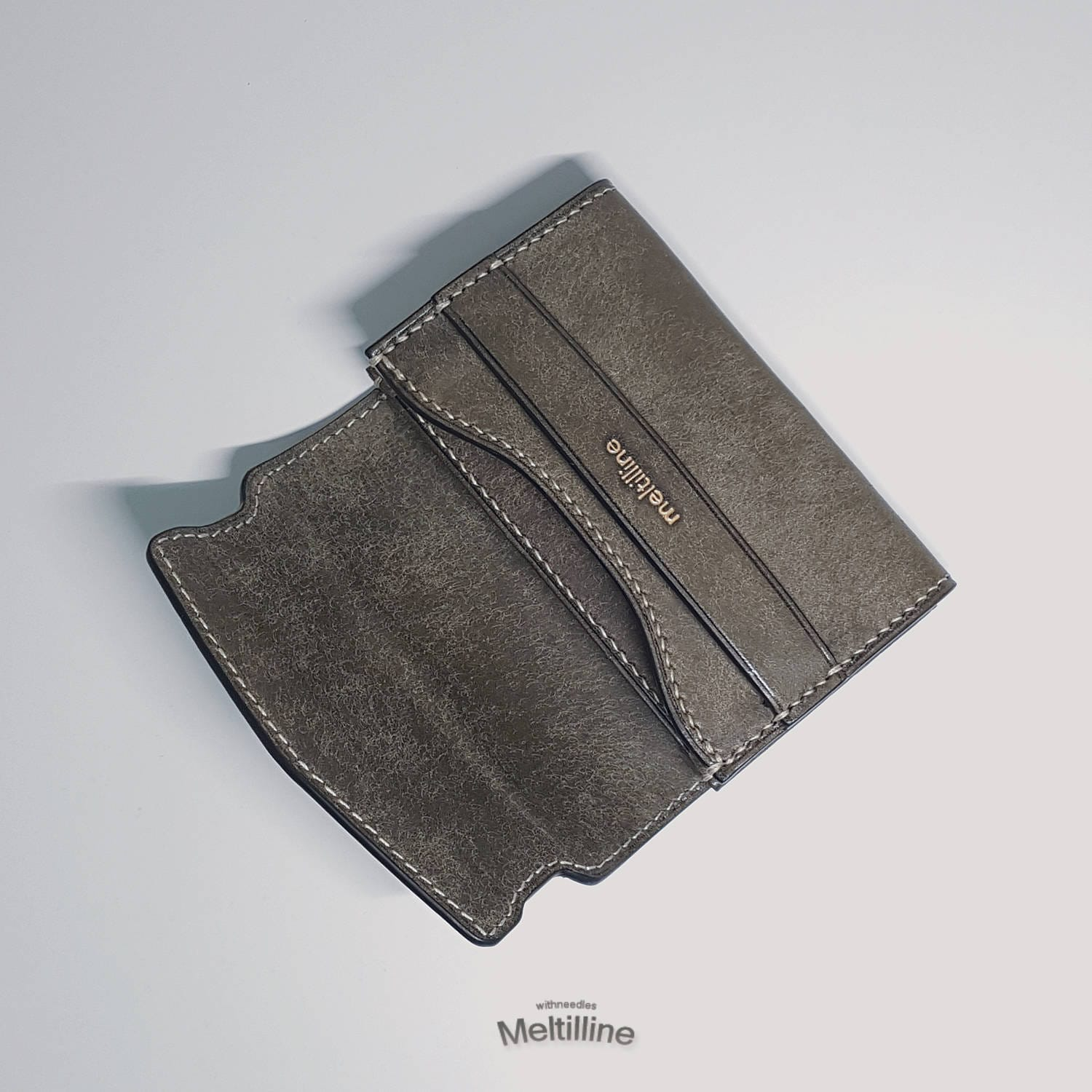 Business Card & Credit Card Wallet / 100% HandMade / Leather Wallet ...