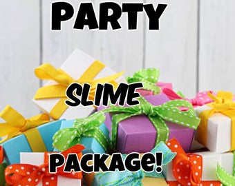 Party Slime Package
