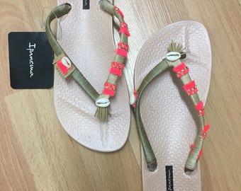 Impanema original flip-flop re-designed