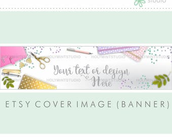 how to make a esty shop banner