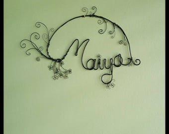Personalized Name Art; Custom Name Decor; Nursery Name Decor; Personalized Nursery Art; Simple Nursery Decor; Child Name Sign