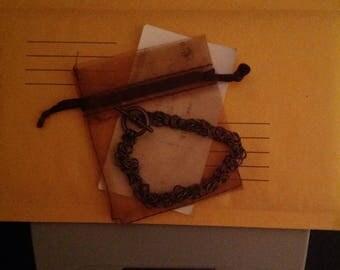 Copper Byzantine Chainmail Bracelet