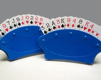 Playing card holders -- set of 2