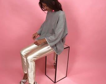 70's pearl spandex disco pants S