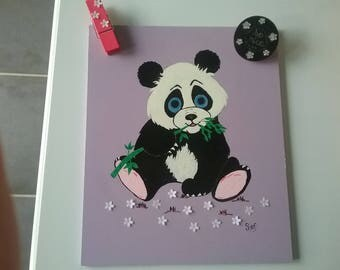 Table Panda and bamboo jewerly