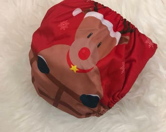 Reusable //Couche sale / / layer Christmas / / baby