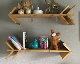 Arrow Shelves