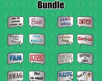 Viral Bundle | 16 Signs (8 Pieces)