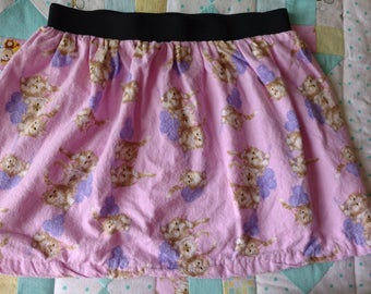 Homemade Pink Kitten Skirt