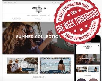 Ultimate One Week Turn Around E-Commerce Website