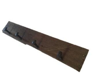 Mahogany Coat Rack