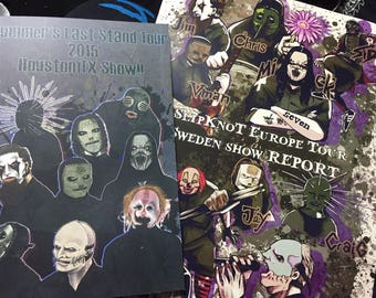 SlipKnoT show review book bundle