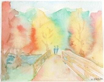 Bridge Walk [006] Original, Prints, and Cards