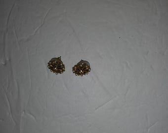 Vintage Absolute Gold/Pearl Earrings