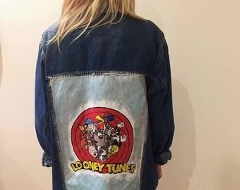 Looney Tunes denim jacket