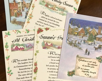Set of 5 Exclusive ADR Collection Christmas Cards
