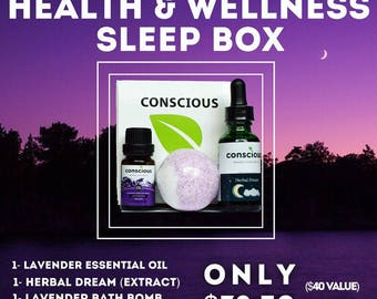 Health & Wellness SLEEP BOX
