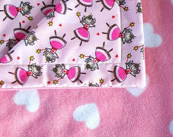 Pet blanket, Heart blanket, Princess blanket, Cat blanket , Fairy blanket , Dog blanket , Pet accessories , Cage liner , Pet bed, Fleece