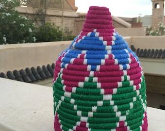 Authentic Berber storage basket. Original from Marrakech
