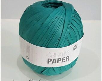 Green Paper 100% fiber paper Rico Creative oil