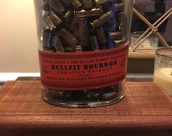 Bourbon Bottle Lamp: Bulleit