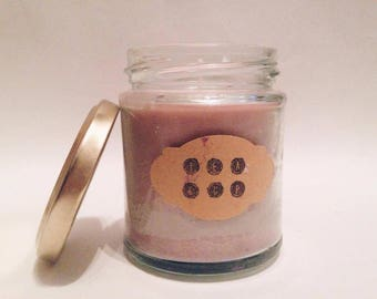 Handmade Soy Candle Vegan - Pink