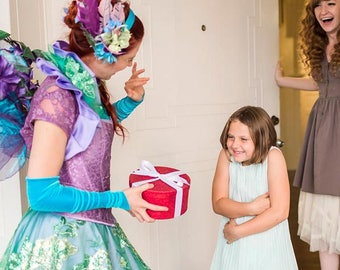 Birthday Morning Experience ~ Surprise them with a real Faerie at their front door!