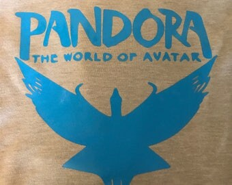 Avatar World of Pandora Disney's Animal Kingdom mens t-shirt