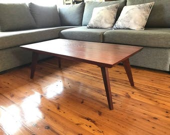 Retro Red gum Coffee Table