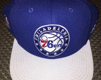 Retro Adidas Philadelphia 76ers Snapback Hat