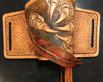Falcon Leather Holster & Mag Pouch Set