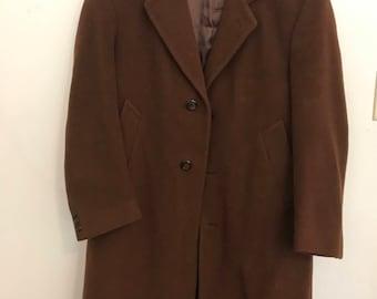 Brown Coat made in Bulgaria