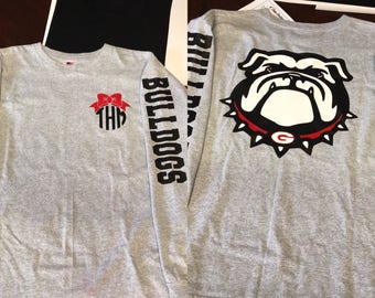 Georgia Bulldog long sleeve tshirt