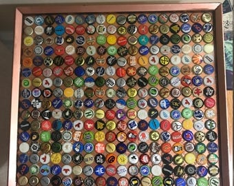Customized Beer Bottle Cap end tables