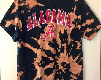 Tie Dye University of Alabama Tshirt