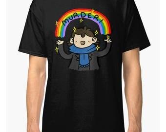 Sherlock Holmes 'Murder' Men's Women's T-shirt