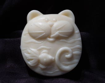 Cat and Fish Soap