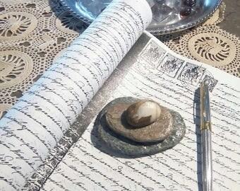 THE GOOSE pebble art press papier