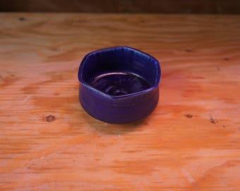 Small Blue Jewelry Bowl